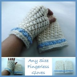 Any Size Fingerless Gloves