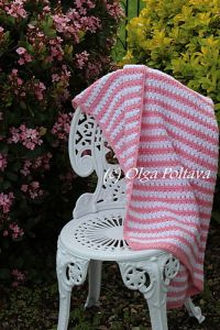 Garden Stripes Baby Blanket