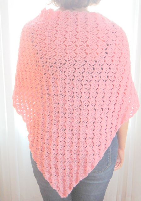 Crochet Patterns Galore Simple Shawl For A Ronald Mcdonald House Mama