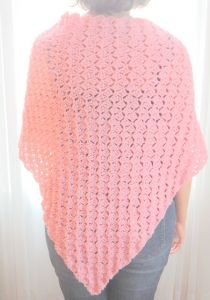 Simple Shawl for a Ronald McDonald House Mama