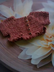 Primavera - Ruffle Shrug for Babies
