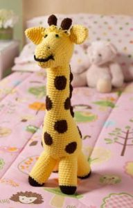 Love My Giraffe Toy