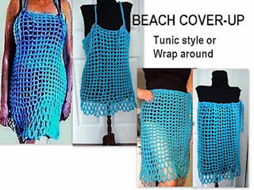 Crochet Patterns Galore Beach Cover Up