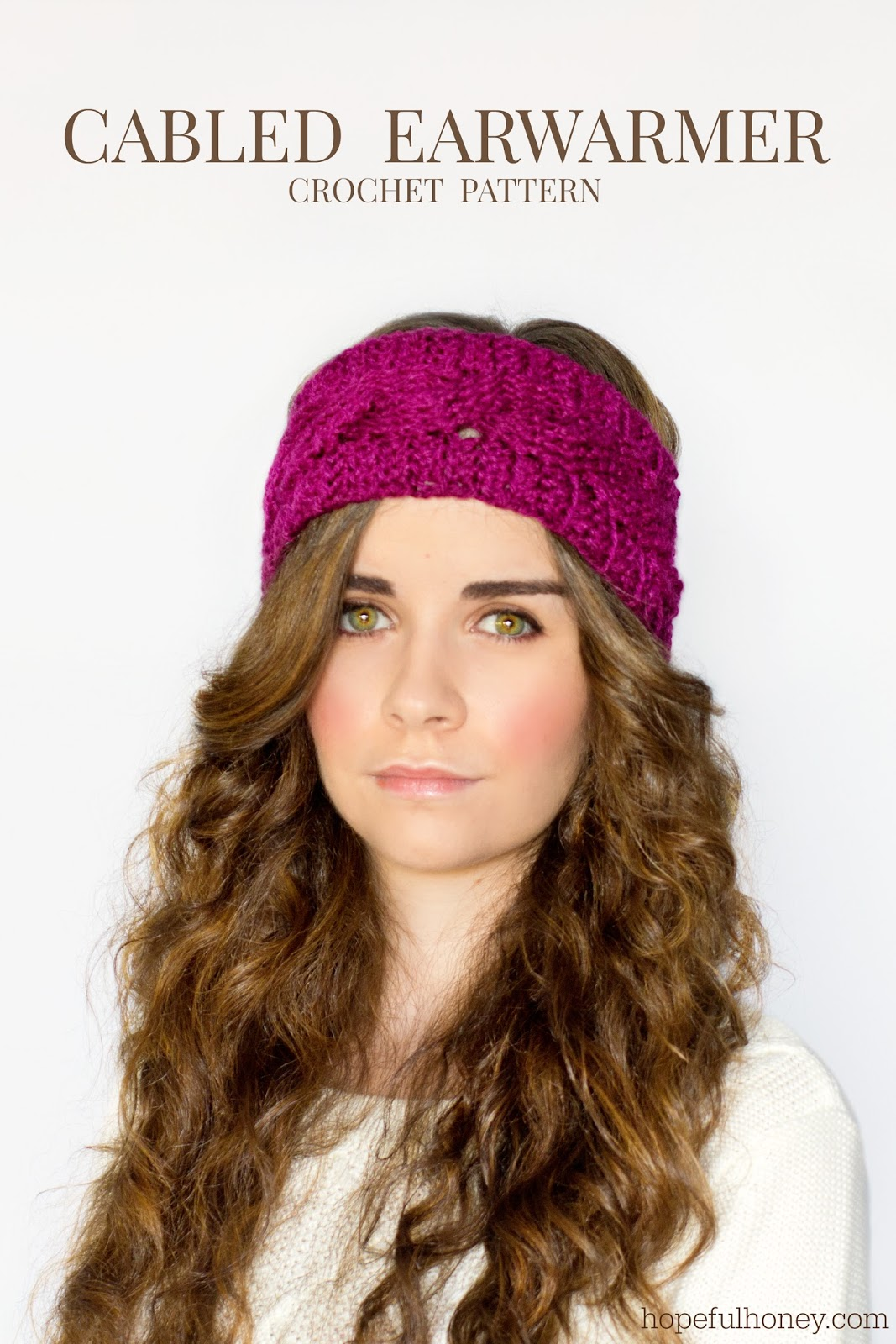 Crochet Patterns Galore Cabled Earwarmer