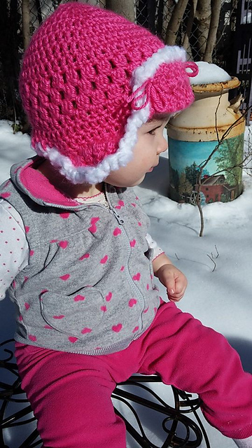 Crochet Patterns Galore Baby Trapper Hat