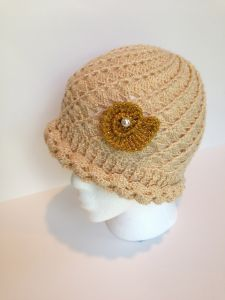 Mother Of Pearl Hat