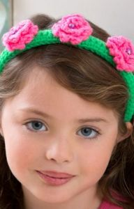 Flower Top Headband