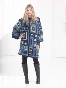 Patchwork Car Coat