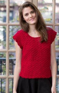 Shell Stitch Top