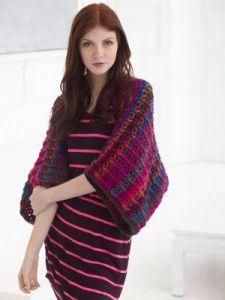 Crochet Patterns Galore Ribs And Shells Shrug