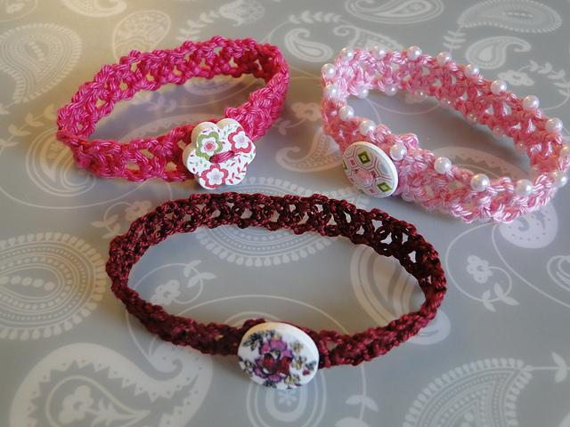 Crochet Patterns Galore Chainlace Bracelet