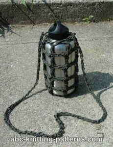 Paracord Water Bottle Carrier