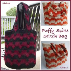 Puffy Spike Stitch Bag