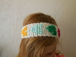 Hook 'n Stitch Hearts Headband