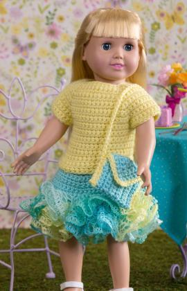 Crochet Patterns Galore Summertime Frills For Dolls