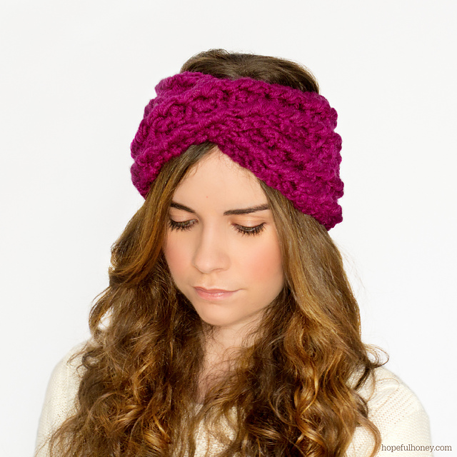 Crochet Patterns Galore Chunky Criss Cross Headband