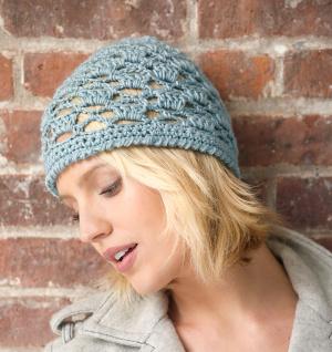 Crochet Patterns Galore - Mod Lace Hat 0fb35c5506d