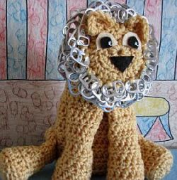 Pop Tab Lion