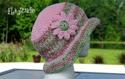 Honeysuckle Summer Hat