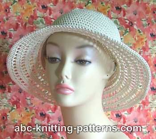 Crochet Patterns Galore Summer Breeze Hat
