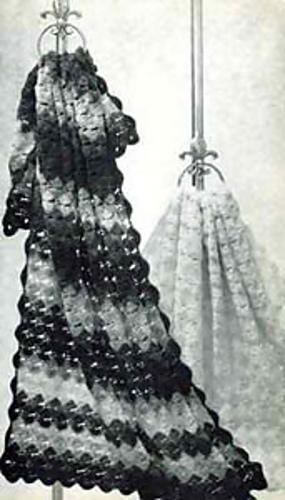 Crochet Patterns Galore Star Shell Afghan