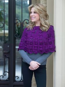 3 Ball Crochet Poncho