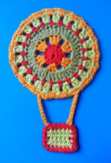 Crochet Patterns Galore Hot Air Balloon Mandala
