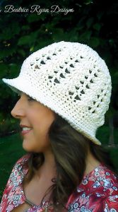 Sunshine and Shells Summer Hat