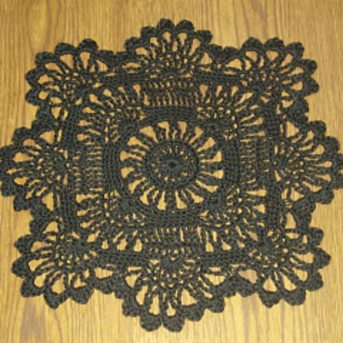 Crochet Patterns Galore Sun Flower Doily