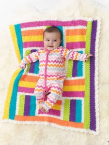 Patchwork Girlie Throw