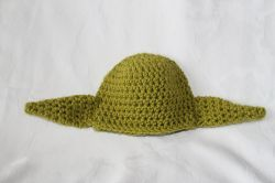 Hat Inspired by Yoda