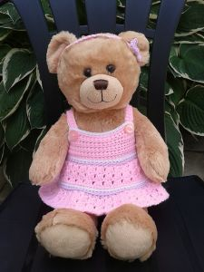 Teddy Bear Dress and Headband