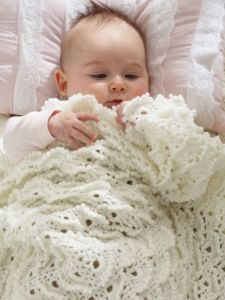 Fluffy Meringue Blanket