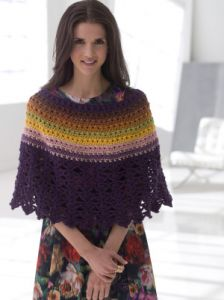 Lace Edged Poncho
