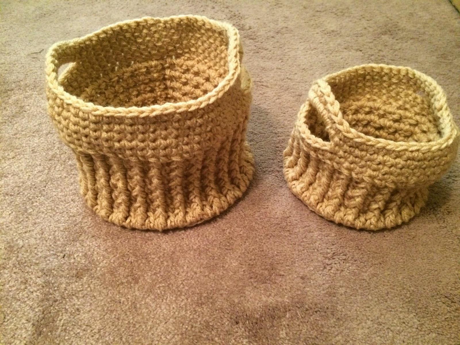 Crochet Patterns Galore - Stash Busting Texture Basket