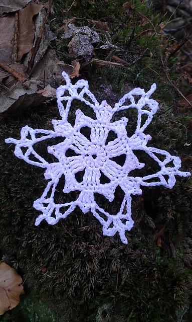 Crochet Patterns Galore Yeti Snowflake
