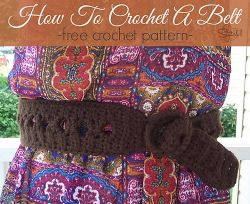 How To Crochet A Belt