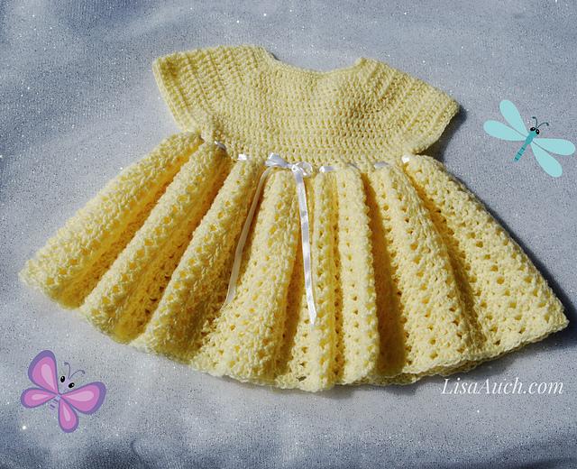 Crochet Patterns Galore Easy Baby Dress