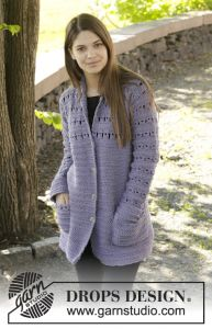 Lavender Touch Cardigan