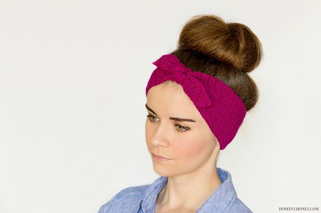 Crochet Patterns Galore - Retro Pin-Up Headband 3d57b01c2de