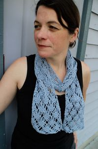 Panda Silk Spider Lace Scarf