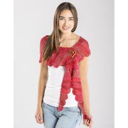 Sizzling Scalloped Shawlette