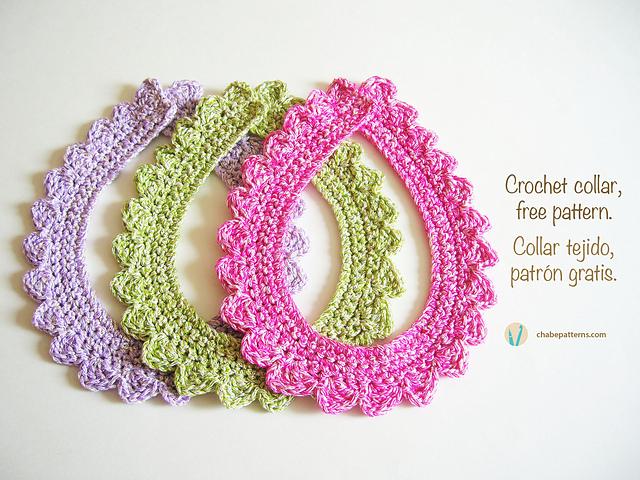 Crochet Patterns Galore Scalloped Collar