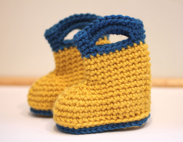 Crochet Patterns Galore Rain Boots