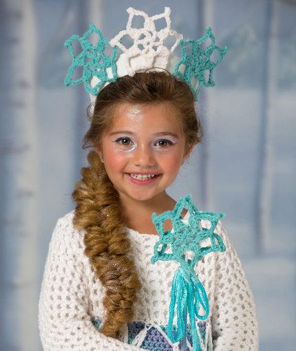 Crochet Patterns Galore Snow Princess Tiara Wand