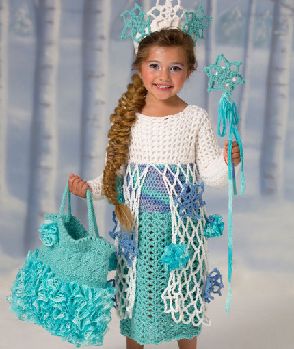 33c078aa5b7 Crochet Patterns Galore - Snow Princess Dress
