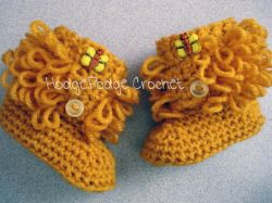 Loopy Baby Booties