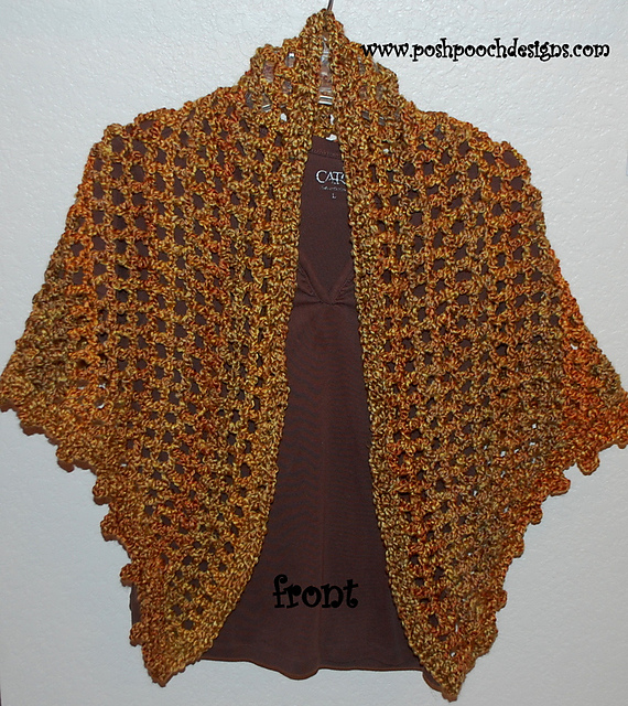 Crochet Patterns For Shawls And Shrugs : Crochet Patterns Galore - Everyday Shawl