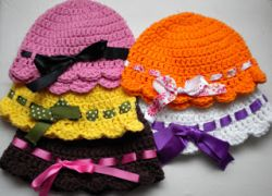 Baby Flapper-Girl Hat