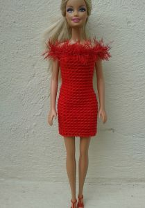 Barbie in Red
